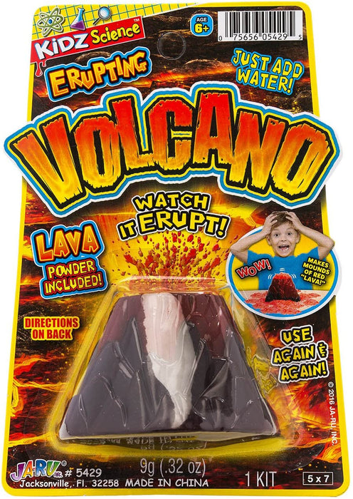 Erupting Volcano Science (Pack of 6) by JA-RU | Educational Toys Science Experiments | Item #5429-6