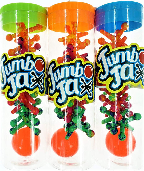 JA-RU Big Jacks Toy Set (Pack of 6 Units) Kids Jax Classic Games Great Party Favors or Pinata Filler in Bulk. 6569-6p