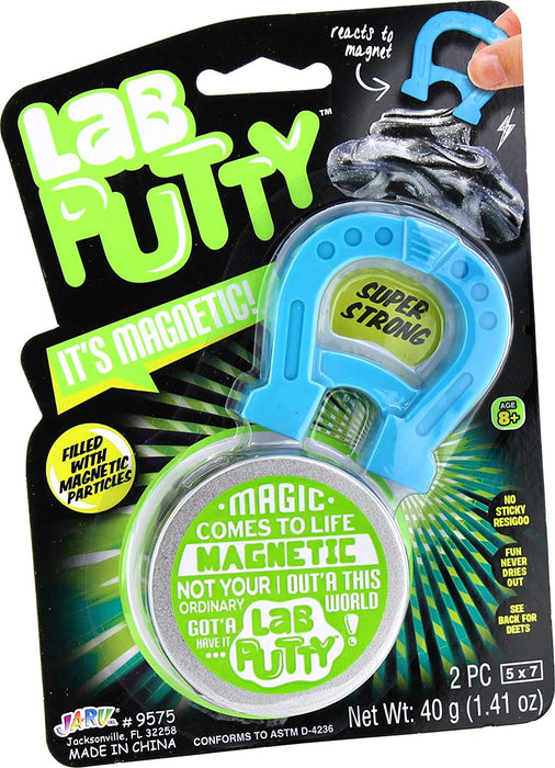Master Toys Lab Putty - It's Magnetic, Turns Magnetic
