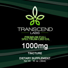 Load image into Gallery viewer, 1,000 MG FULL SPECTRUM CBD OIL