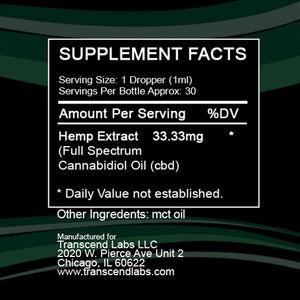 1,000 MG FULL SPECTRUM CBD OIL