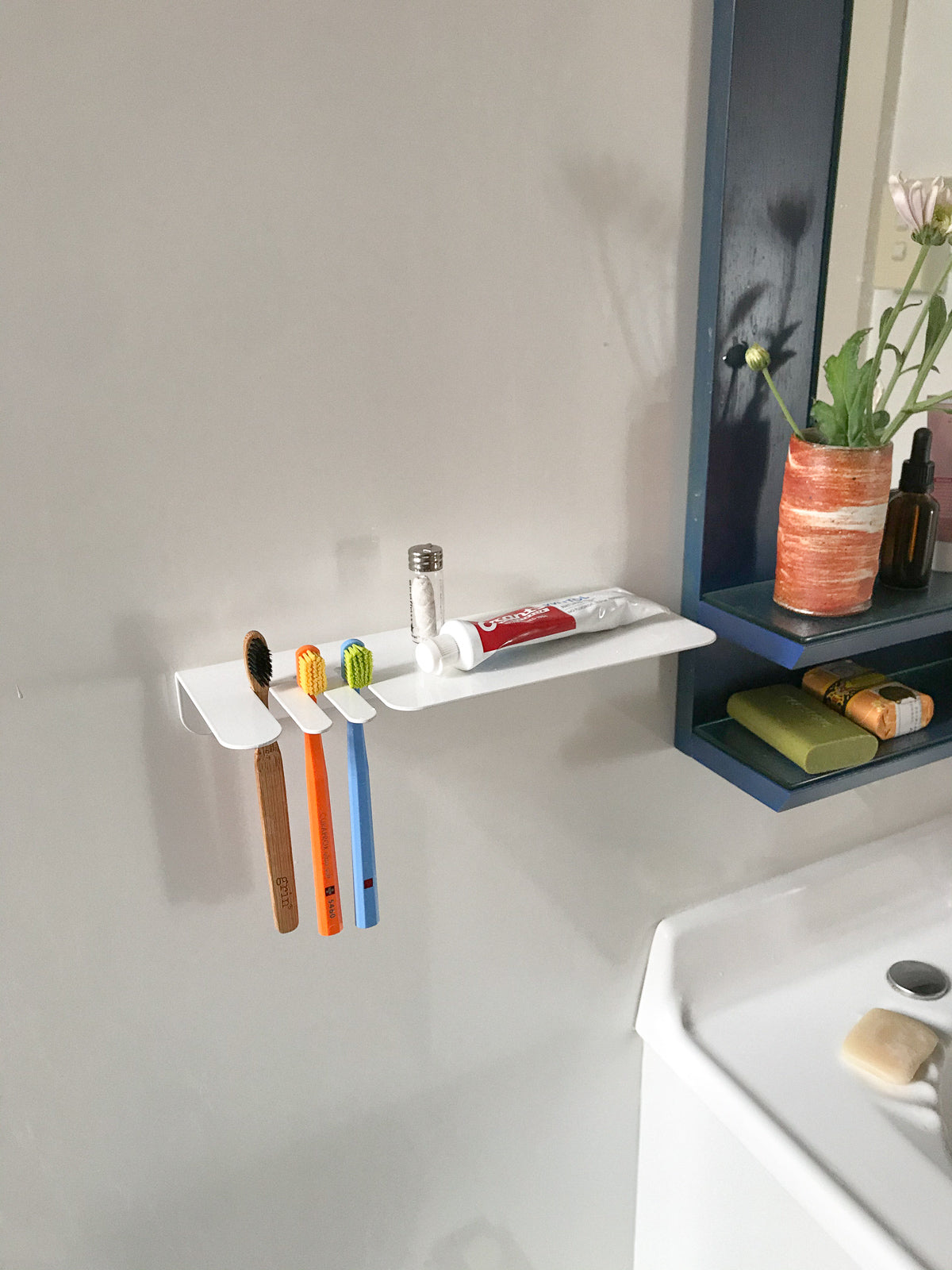 Toothbrush Shelf