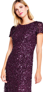 cabernet scoop lng dress