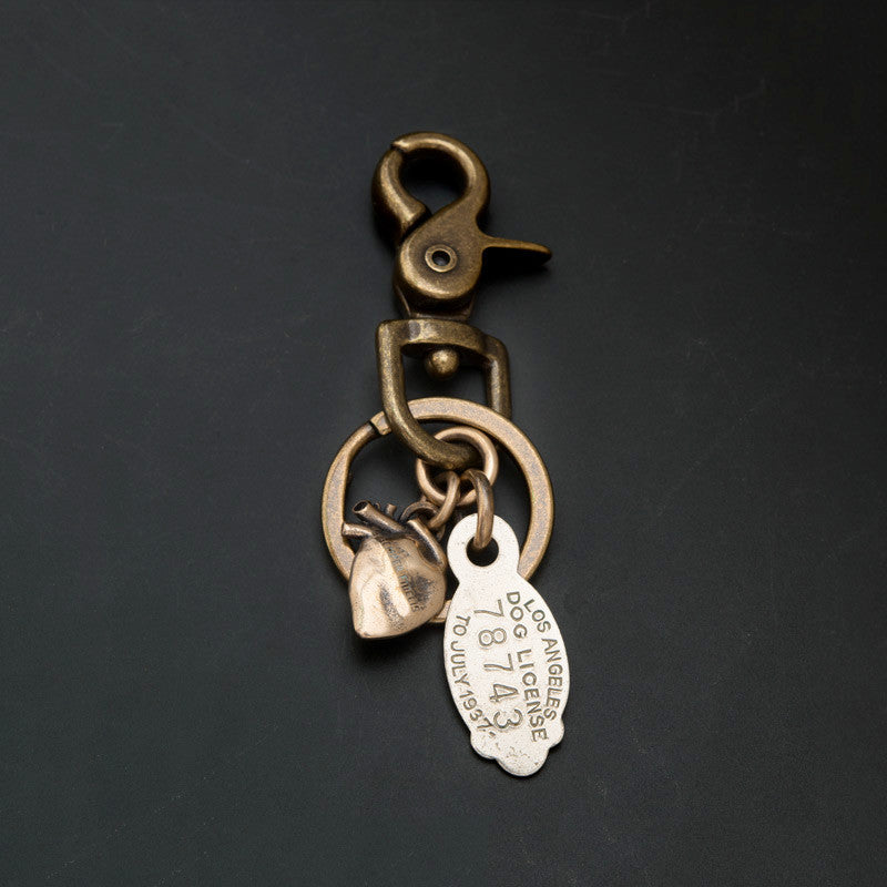 DOG TAG KEY RING -  LA '37