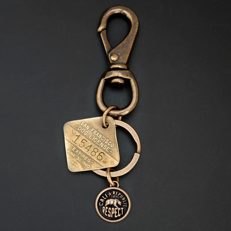 DOG TAG KEY RING -  SFCA '60