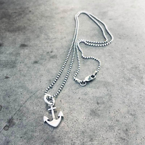 Captain of My Soul - ANCHOR NECKLACE