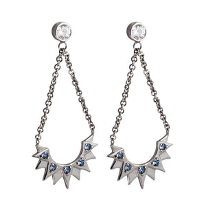 Aretes Bianca Silver