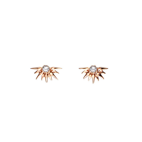 Aretes Fiore Rose Gold