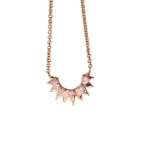 Bianca Rose Gold Necklace