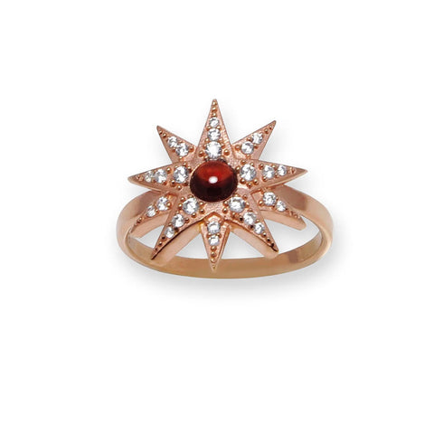 Anillo Bianca Rose Gold