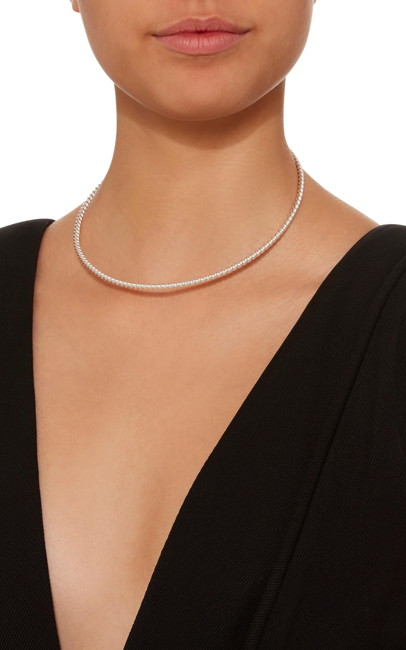 THIN TWISTED CHOKER