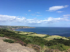 Scarborough to Whitby Rail Trail Cinder Track cycle route