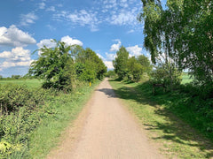 Trans Pennine Trail easy cycle route