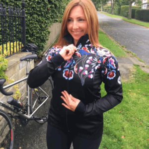 Lasses Floral Gaffer Cycling Jacket