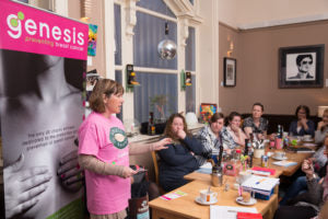 Genesis Breast Cancer with Robert's Bakery, Business Networking Morning at Cafelito, Stockport