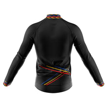 Load image into Gallery viewer, Mens Black 3 Min Cycling Jersey