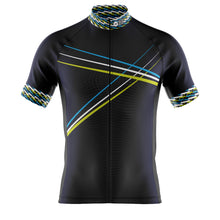 Load image into Gallery viewer, Mens Blue 3 Min Cycling Jersey