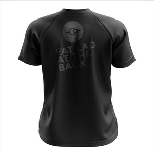 Big and Tall Mens Black FLAB Mountain Bike Jersey