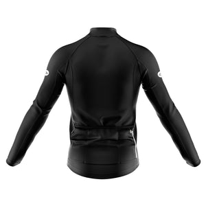 Mens Black Nesh Midweight Cycling Jersey