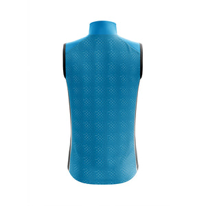 Mens Windy Cycling Gilet in Blue - Due Early March