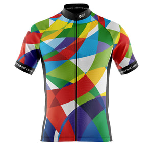 Big and Tall Mens Bobby Dazzler Cycling Jersey