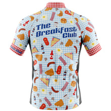 Load image into Gallery viewer, Big and Tall Mens Cove Cycling Jersey in Breakfast Club