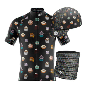 Big and Tall Mens Cake Cycling Jersey