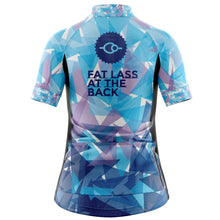 Load image into Gallery viewer, Women's Classic Blue Cycling Jersey