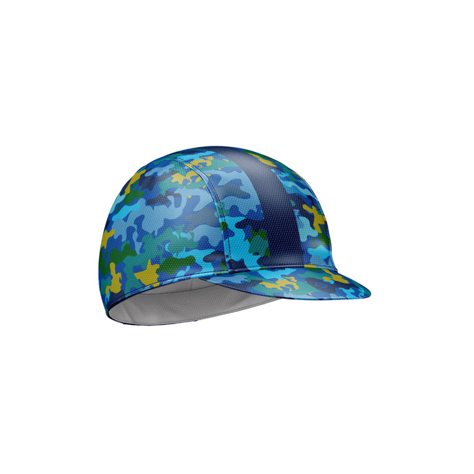 Cycling Cap in Camo