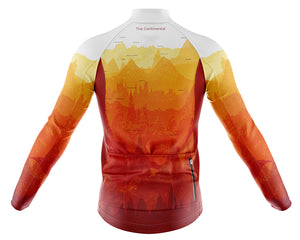 Big and Tall Mens Continental Windproof Cycling Jersey