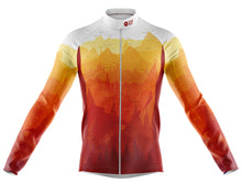 Load image into Gallery viewer, Big and Tall Mens Continental Windproof Cycling Jersey