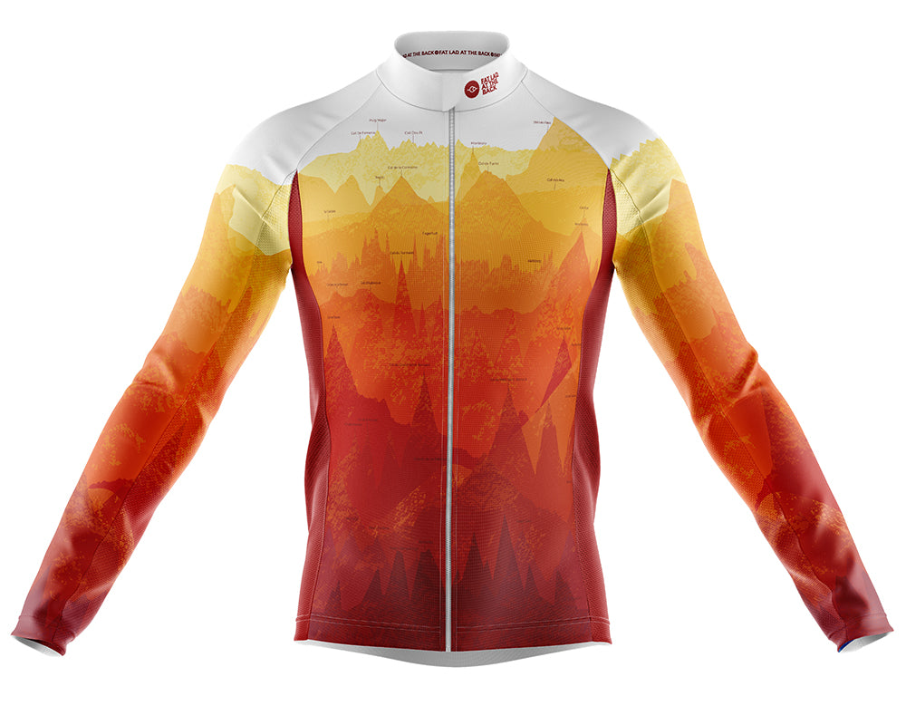 Mens Continental Windproof Cycling Jersey