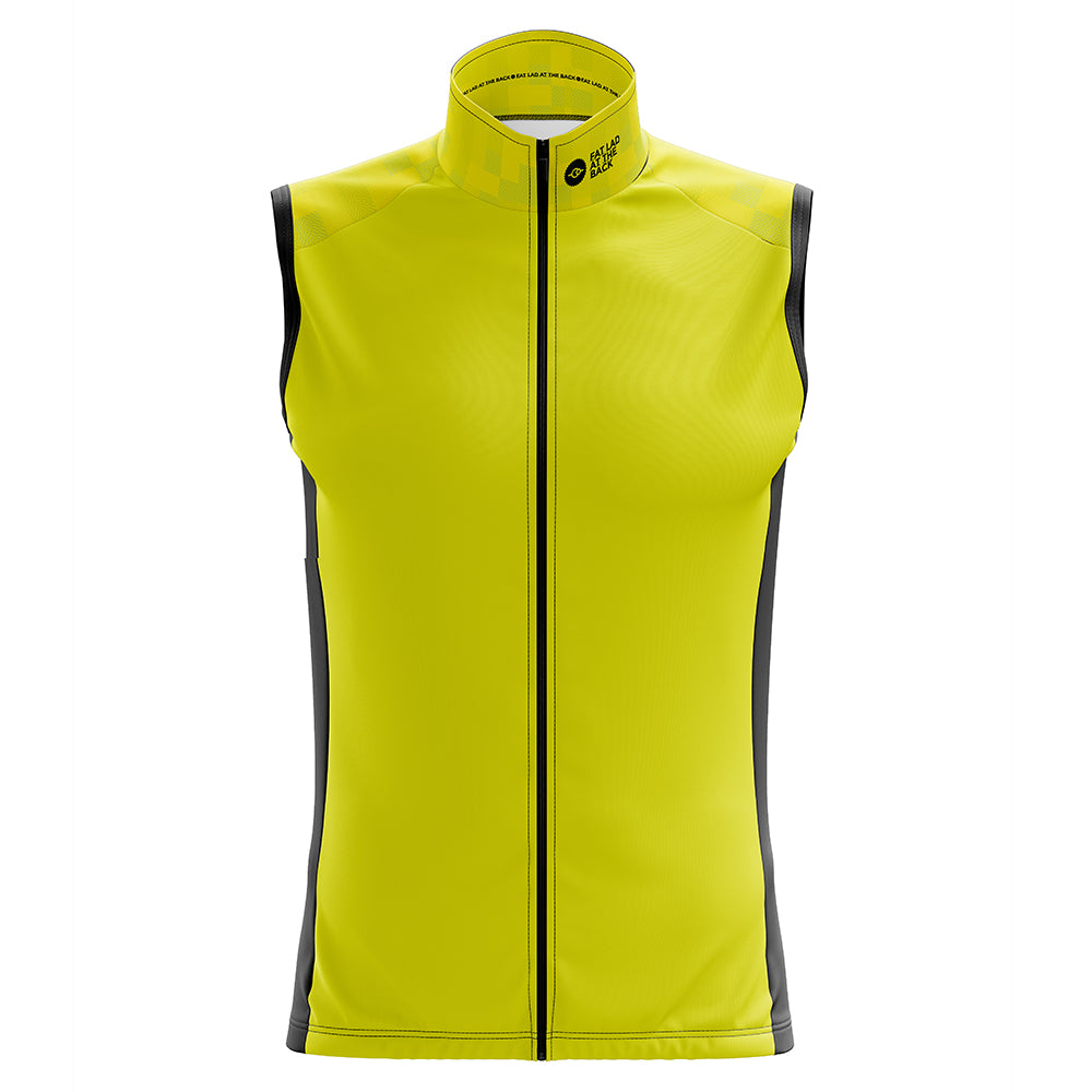 Mens Hi Vis Windy Cycling Gilet