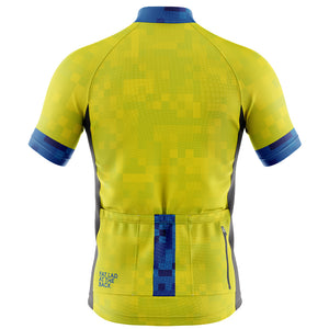 Mens Hi Vis Cube Cycling Jersey - DUE EARLY JUNE