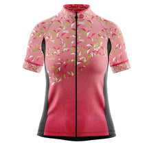 Load image into Gallery viewer, Women's Pink Flutter Cycling Jersey