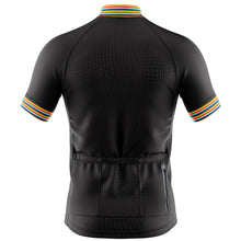 Load image into Gallery viewer, Mens Black Stripe Cycling Jersey