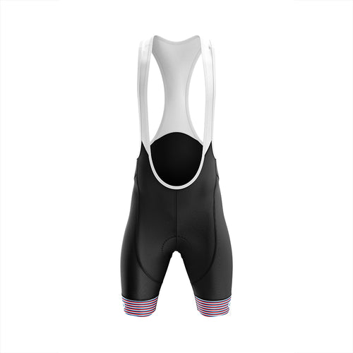 Mens Jewel Padded Cycling Bib Shorts in Graphic