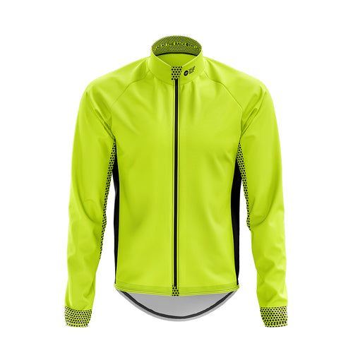 Big and Tall Mens Hi Vis Cycling Winter Jacket