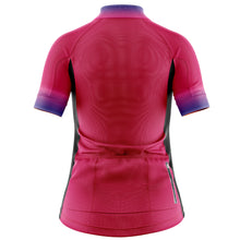 Load image into Gallery viewer, Women's Fleet Cycling Jersey in Horizon Pink