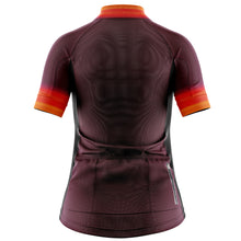 Load image into Gallery viewer, Women's Fleet Cycling Jersey in Horizon Aubergine