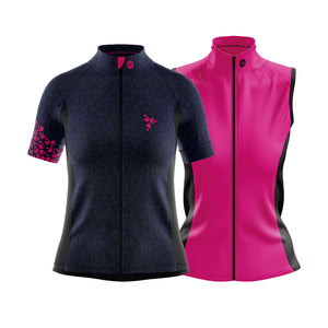 Women's Tor Cycling Jersey in Incognito Blue