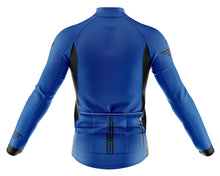 Load image into Gallery viewer, Big and Tall Mens Blue Jaggered Long Sleeve Heavy Weight Jersey