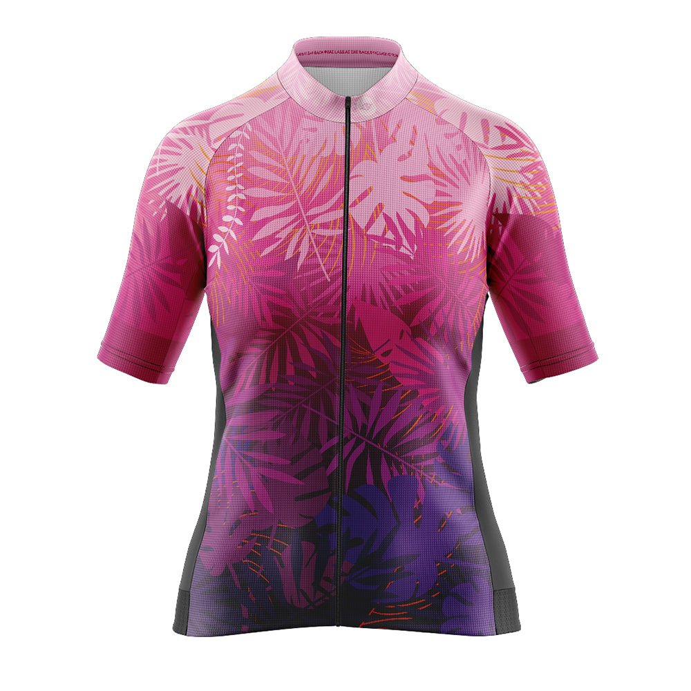 Women's Cove Cycling Jersey in Jungle