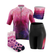 Load image into Gallery viewer, Women's Cove Cycling Jersey in Jungle