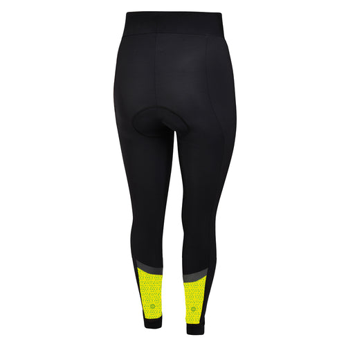 Women's Hi Vis Kaleidoscope Thermal Padded Cycling Tights