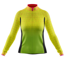 Load image into Gallery viewer, Women's Hi Vis Kaleidoscope Cycling Jersey