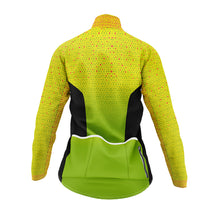 Load image into Gallery viewer, Women's Hi Vis Kaleidoscope Cycling Winter Jacket