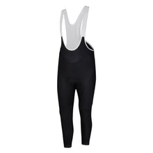 Load image into Gallery viewer, Mens Black Stealth Jewel Reflective Thermal Padded Cycling Bib Tights