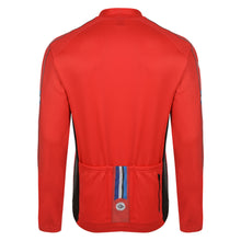 Load image into Gallery viewer, Mens Stealth Red Windproof Cycling Jersey