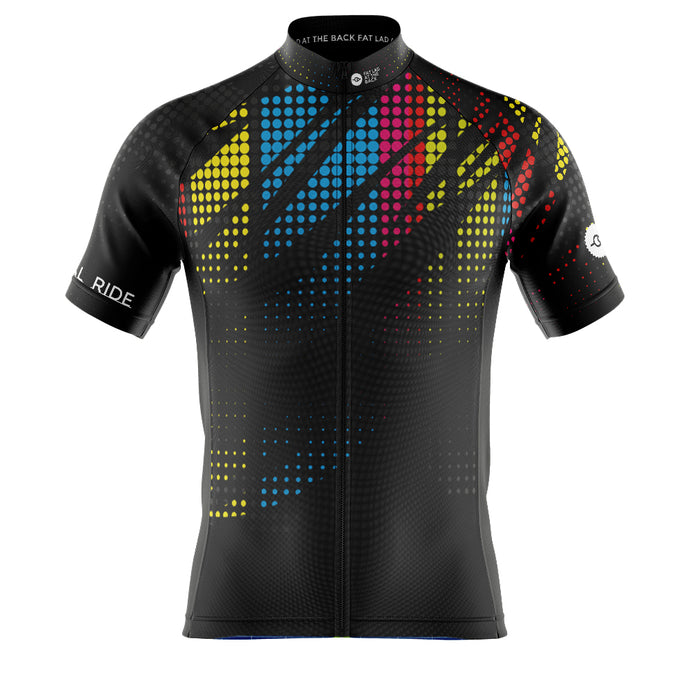 Mens Spare Tyre EXCLUSIVE FLAB Social Ride Cycling Jersey